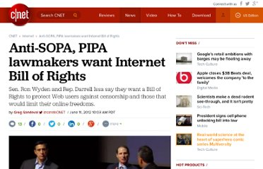 http://news.cnet.com/8301-1023_3-57450392-93/anti-sopa-pipa-lawmakers-want-internet-bill-of-rights/