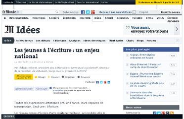 http://www.lemonde.fr/idees/article/2012/06/12/les-jeunes-a-l-ecriture-un-enjeu-national_1716666_3232.html