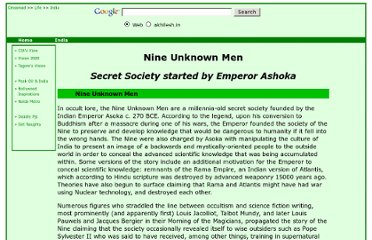 http://www.akhilesh.in/life/india/history-legends-myths/ashokasnineunknownmen.php