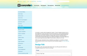 http://www.concrete5.org/documentation/general-topics/how-a-page-looks/
