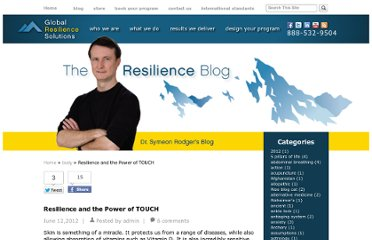 http://globalresiliencesolutions.com/resilience-and-the-power-of-touch