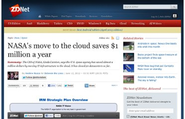 http://www.zdnet.com/blog/btl/nasas-move-to-the-cloud-saves-1-million-a-year/79773