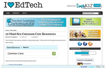 http://blog.simplek12.com/education/common-core-resources/