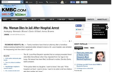 http://www.kmbc.com/Mo-Woman-Dies-In-Jail-After-Hospital-Arrest/-/11664900/12258428/-/2a2patz/-/index.html
