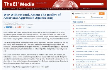 http://www.4thmedia.org/2012/06/12/war-without-end-amen-the-reality-of-americas-aggression-against-iraq/