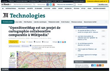 http://www.lemonde.fr/technologies/article/2012/06/12/openstreetmap-est-un-projet-comparable-a-wikipedia_1717185_651865.html