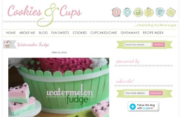 http://cookiesandcups.com/watermelon-fudge/
