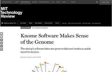 http://www.technologyreview.com/news/428179/knome-software-makes-sense-of-the-genome/