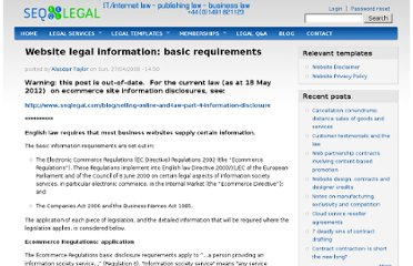 http://www.seqlegal.com/blog/website-legal-information-basic-requirements