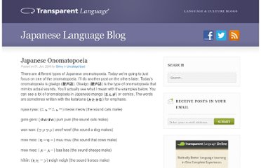 http://blogs.transparent.com/japanese/japanese-onomatopoeia/