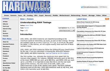 http://www.hardwaresecrets.com/article/Understanding-RAM-Timings/26