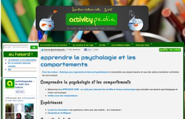 http://www.activitypedia.org/tiki-index.php?page=apprendre+la+psychologie+et+les+comportements