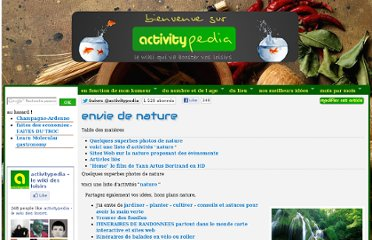 http://www.activitypedia.org/tiki-index.php?page=envie+de+nature
