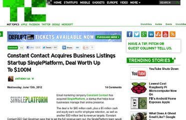 http://techcrunch.com/2012/06/13/constant-contact-acquires-singleplatform/
