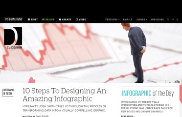 http://www.fastcodesign.com/1670019/10-steps-to-designing-an-amazing-infographic