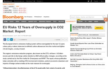 http://www.bloomberg.com/news/2012-06-11/eu-risks-12-years-of-oversupply-in-co2-market-report.html