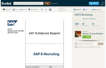 http://pt.scribd.com/doc/76082160/SAP-E-Recruiting