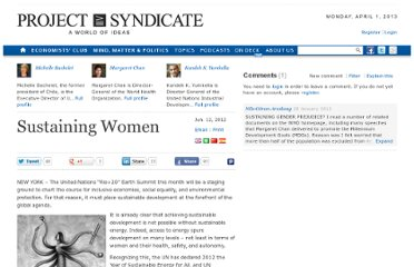 http://www.project-syndicate.org/commentary/sustaining-women