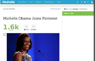 http://mashable.com/2012/06/13/michelle-obama-pinterest/