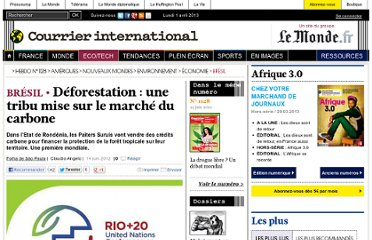 http://www.courrierinternational.com/article/2012/06/14/deforestation-une-tribu-mise-sur-le-marche-du-carbone