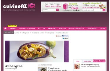 http://www.cuisineaz.com/categorie/2/aubergine-593.aspx