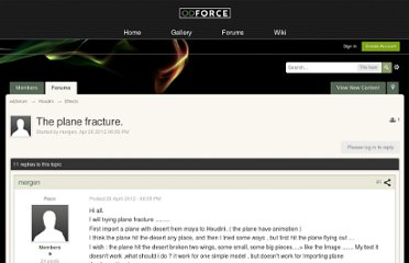 http://forums.odforce.net/index.php?/topic/15345-the-plane-fracture/