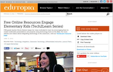 http://www.edutopia.org/tech-to-learn-free-online-resources-video