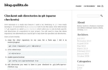 http://blog.quilitz.de/2010/03/checkout-sub-directories-in-git-sparse-checkouts/comment-page-1/#comment-3146