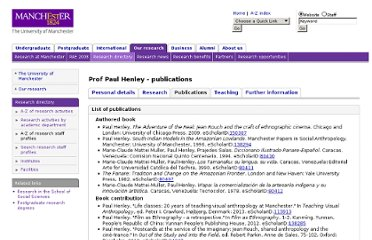 http://www.manchester.ac.uk/research/Paul.henley/publications
