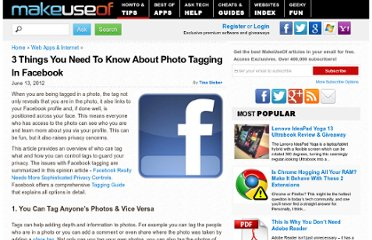 http://www.makeuseof.com/tag/3-things-you-need-to-know-about-photo-tagging-in-facebook/