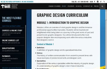 http://www.thegraphicdesignschool.com/graphic-design-course-curriculum.html