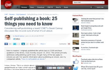 http://reviews.cnet.com/8301-18438_7-10119891-82/self-publishing-a-book-25-things-you-need-to-know/