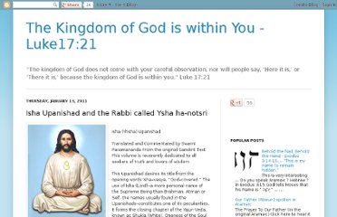 http://www.luke1721.info/2011/01/isha-upanishad-and-rabbi-called-ysha-ha.html