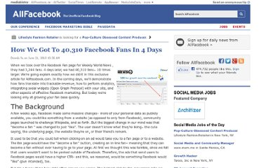 http://allfacebook.com/how-we-got-to-40310-facebook-fans-in-4-days_b15100