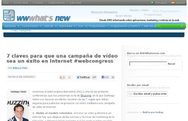 http://wwwhatsnew.com/2012/06/13/7-claves-para-que-una-campana-de-video-sea-un-exito-en-internet-webcongress/
