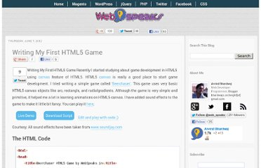 http://www.webspeaks.in/2012/06/writing-my-first-html5-game.html