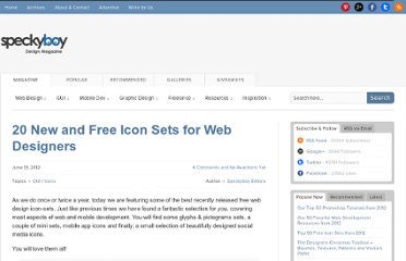 http://speckyboy.com/2012/06/13/20-new-and-free-icon-sets-for-web-designers/