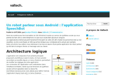 http://blog.valtech.fr/2010/07/06/robot-parleur-sous-android-application-speechbot/
