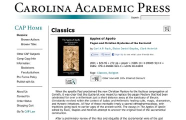 http://www.cap-press.com/books/isbn/9780890899243/Apples-of-Apollo