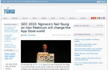 http://www.tuaw.com/2010/03/15/gdc-2010-ngmocos-neil-young-on-how-freemium-will-change-the-ap/