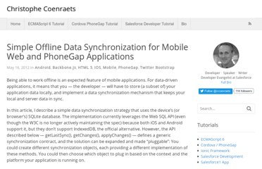 http://coenraets.org/blog/2012/05/simple-offline-data-synchronization-for-mobile-web-and-phonegap-applications/