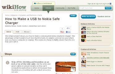 http://www.wikihow.com/Make-a-USB-to-Nokia-Safe-Charger