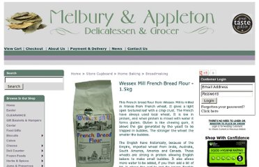 http://www.melburyandappleton.co.uk/wessex-mill-french-bread-flour---15kg-615-p.asp