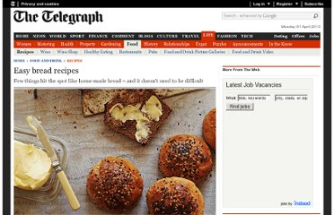 http://www.telegraph.co.uk/foodanddrink/recipes/9202925/Easy-bread-recipes.html