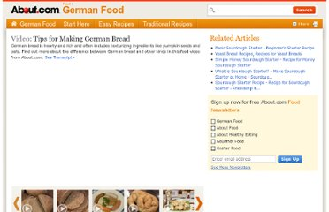 http://video.about.com/germanfood/Tips-for-Making-German-Bread.htm