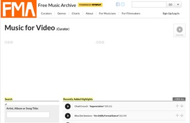 http://freemusicarchive.org/curator/Video/