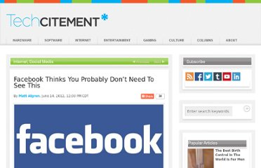http://techcitement.com/internet-2/social-media/facebook-thinks-you-probably-dont-need-to-see-this/#.T9o7F7VYsxA