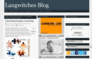 http://langwitches.org/blog/2012/06/14/voicethread-docent-on-the-ipads/