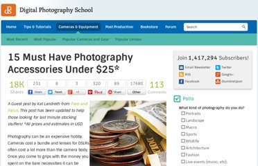 http://digital-photography-school.com/15-must-have-photography-accessories-under-25
