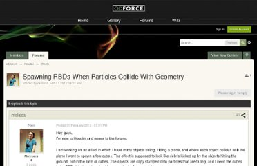 http://forums.odforce.net/index.php?/topic/14768-spawning-rbds-when-particles-collide-with-geometry/